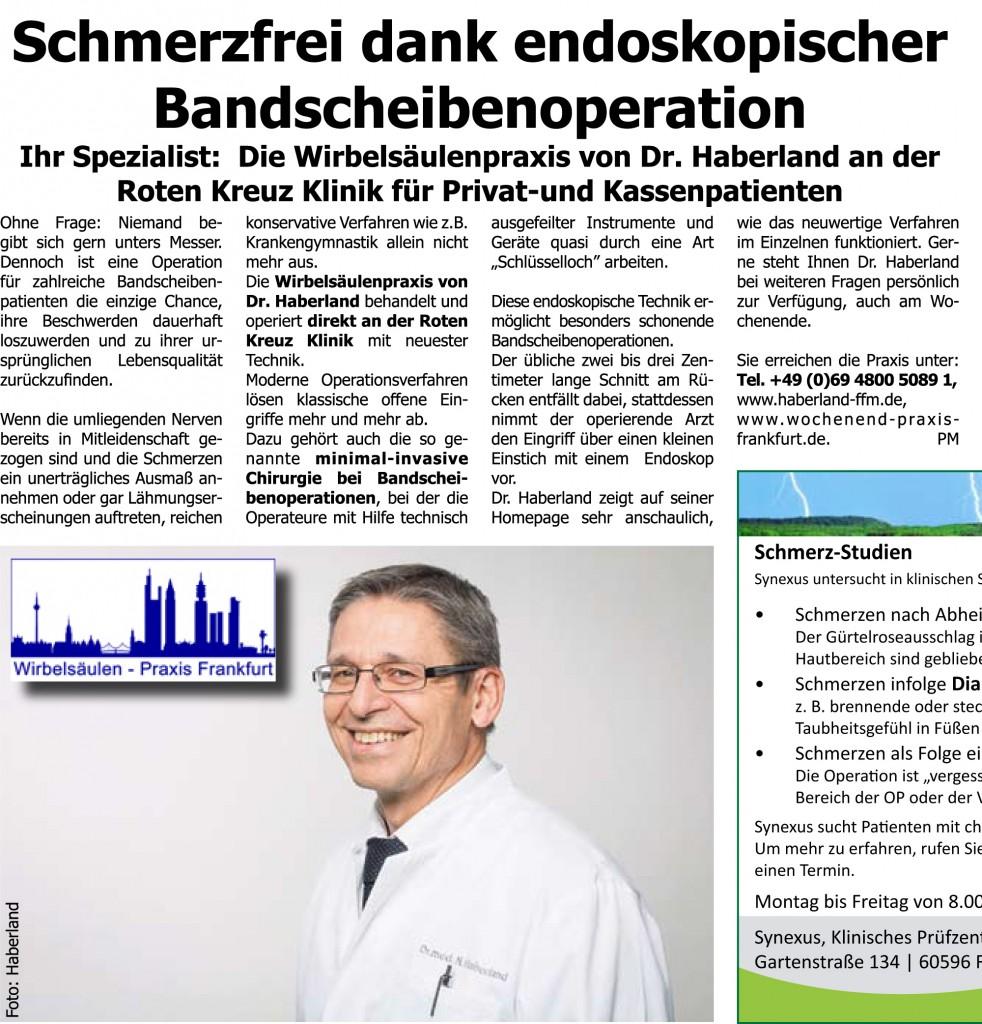 Frankfurter Stadtkurier-Presseartikel-Juni 2014